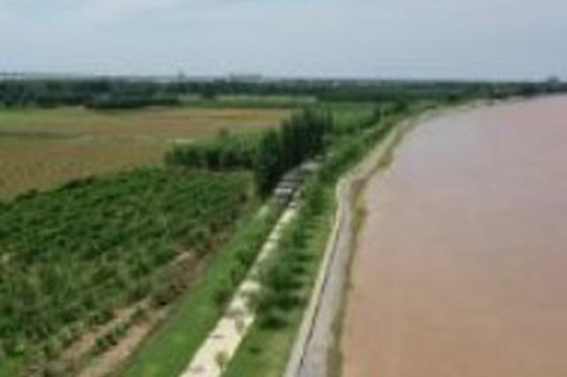 黄河山东■段出现24年来�最大流量 大流量过程ぷ还将持续10天