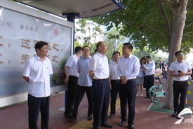 济南往返章丘将新增45部公交车 高峰期发车间隔在5分钟