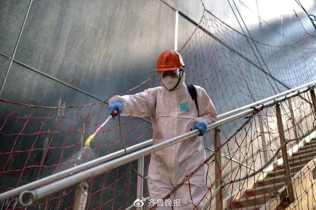 青岛港组织全体职工核酸检测