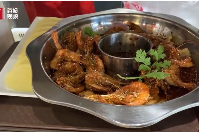 生意火爆 济南一网红餐厅假期每天卖掉近8000只虾