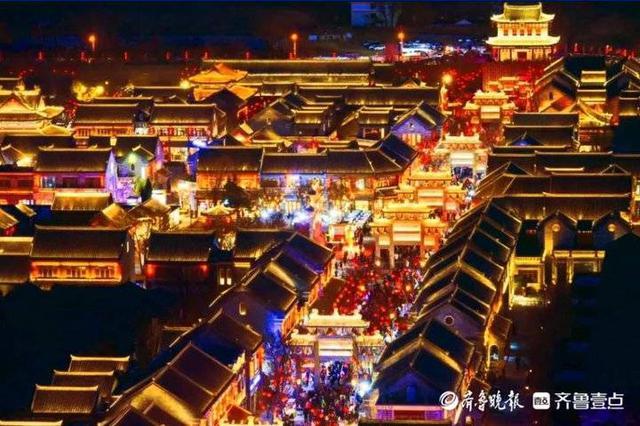 即墨元素過年頻登央視 春節黃金周36.5萬游客逛古城