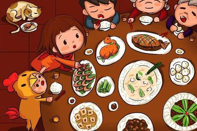 在線餐飲交易突破18億 來看山東人春節怎么花錢