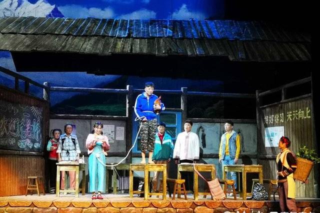 山东唯一入选剧目 儿童剧《童年》举办汇报演出