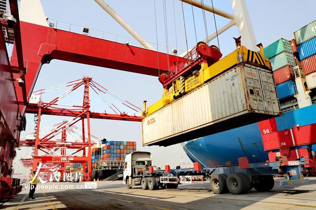 货物吞吐量突破3.7亿吨 山东港口首季吞吐量创历史新高
