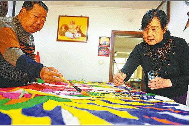 济南六旬夫妻的风筝情 四十余年制作风筝4000只