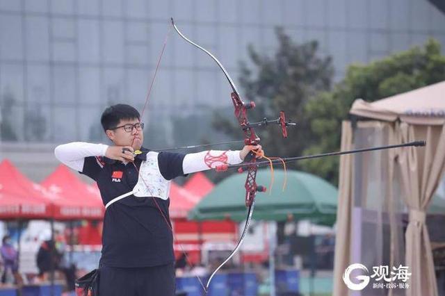 青岛射箭名将王大鹏以总分第一名成绩获东京奥运参赛资格