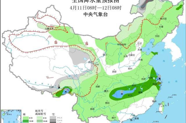 山东大范围降雨来袭气温有所下降
