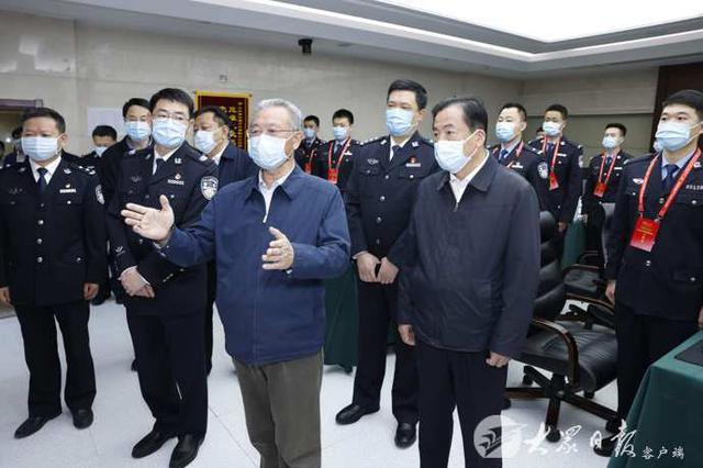 """刘家义在济南调研""""五一""""期间安保维稳和市场供应情况"""