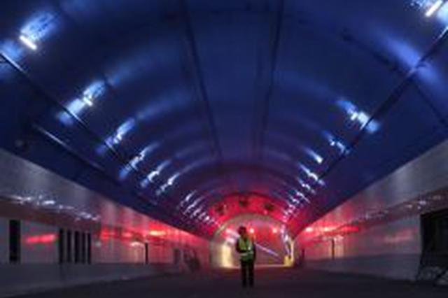 新进展 济南黄河隧道正式进入沥青路面施工阶段
