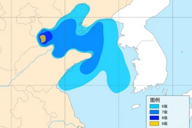山东解除台风蓝色预警并发布海上大风警报