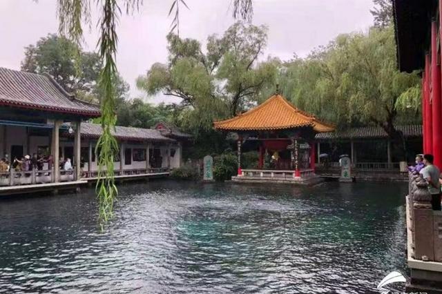 济南趵突泉破30米大关 成为56年来最高水位
