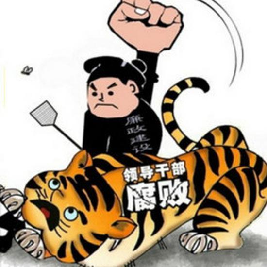 """去年被打两""""虎""""同日挨板 一人被逮捕 一人被双开"""