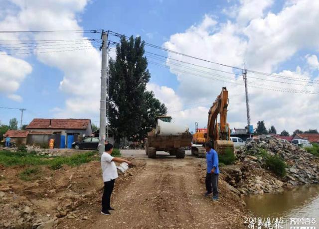 河水猛涨将漫堤 淄博这位村干部1小时转移42户村民