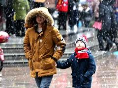 济南 滨州 烟台等地周末或有雨雪 最低气温-4℃