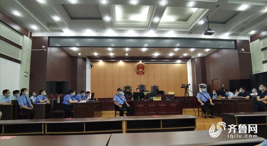 聊城高唐法院公开宣判马玉江等17人黑社会性质组织案