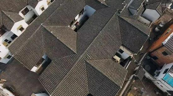 苏州明清样式的旧式屋顶(图片来源于网络)
