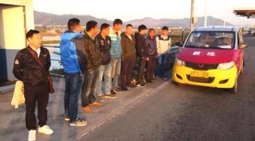 驾校学员考试1小时后被交警抓