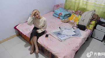 美女记者患淋巴瘤无钱医治 干微商筹钱