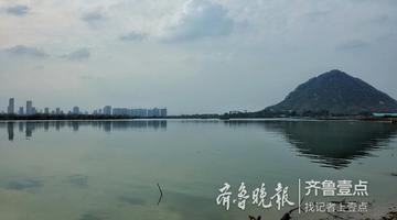 湖面在扩大 济南华山湖愈发美丽大气