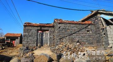 卞山山顶小山村 玄武岩房屋风景独特