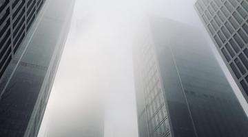 大雾袭泉城 局部地区能见度不足50米