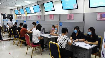 济南恢复外来务工人员现场招聘