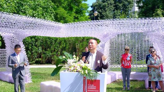 李翔宁教授在威尼斯双年展开幕式的演讲