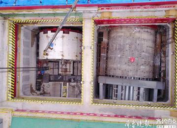 济南黄河隧道开挖在即 来看看这个超级大盾构的威风