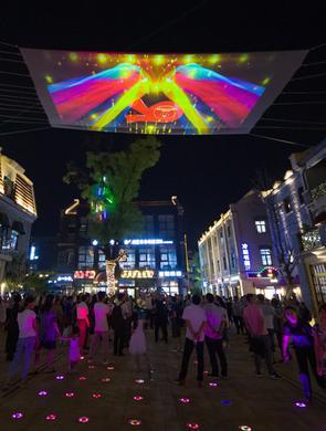 """""""泉城之夜·文旅灯光""""济南老商埠 开秀啦"""