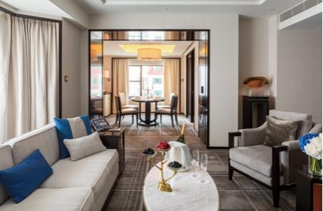 王府半岛酒店-北京套间客厅