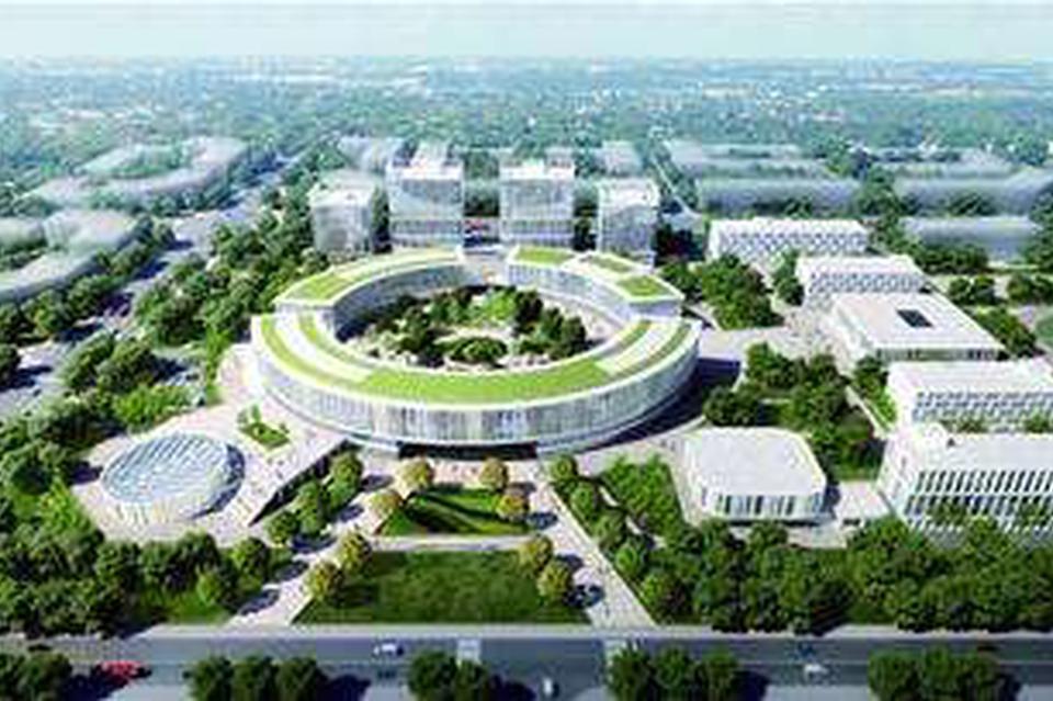 青岛市公共卫生临床中心选址高新区 计划床位1000张