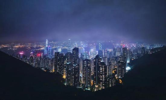 国际大都市——香港(图片来源于网络)