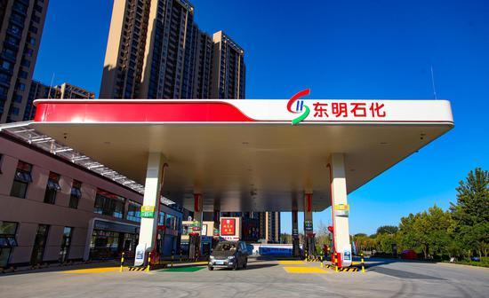 △ 东明石化加油站(资料图)