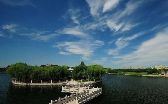 聊城洛神湖公园