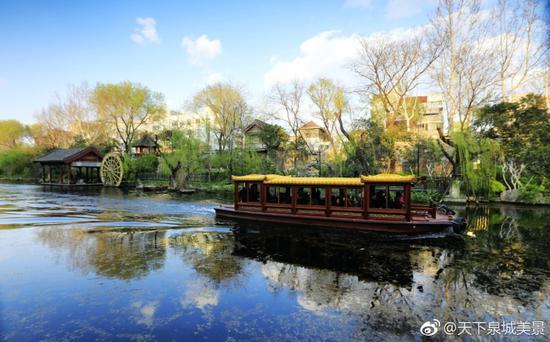 天下泉城美景:回忆春天