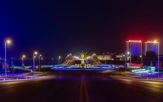 靓了我的城,美了城的夜