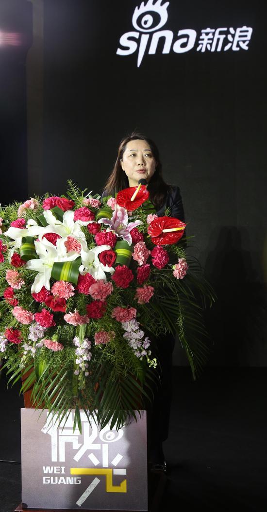 新浪网政旅事业部总经理李峥嵘讲话