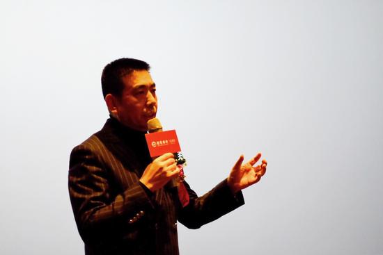 山东凯瑞集团董事长赵孝国先生分享了《新动能下凯瑞的发展方向》;