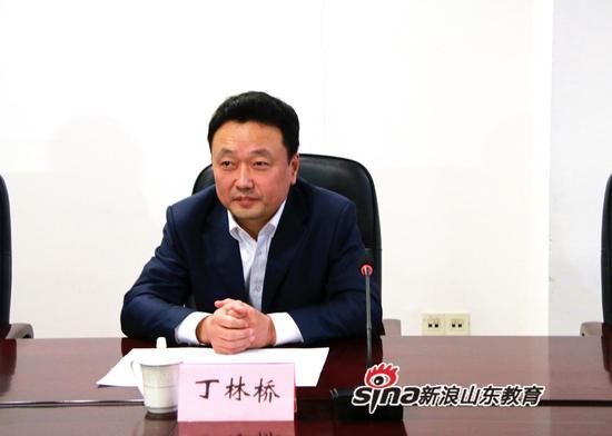 济南市委组织部副部长丁林桥出席新闻发布会