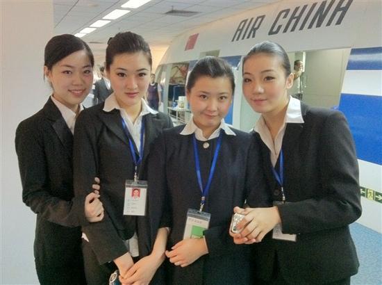 中国国际航空公司录取我院苗彩云、米雪、邢汉坤等