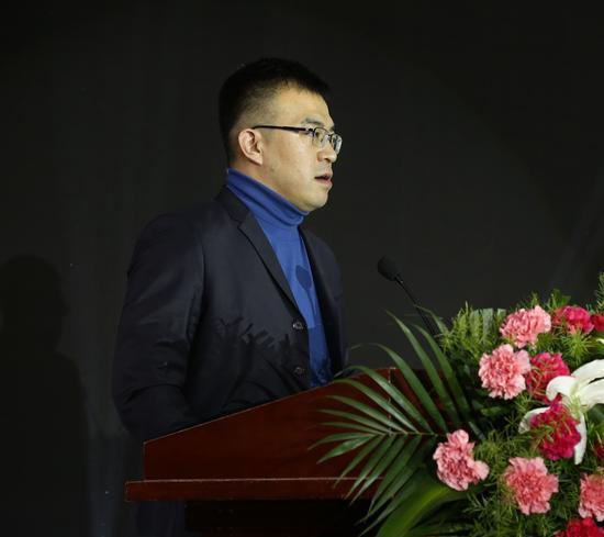 新浪山东总经理韩韬讲话