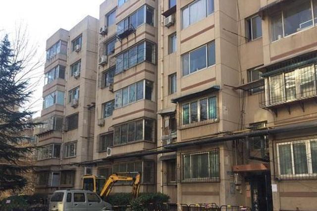 闵子骞路、山大宿舍的老楼电梯也在赶进度 节前可用