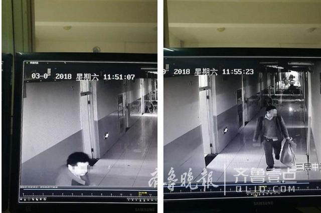 开学季注意 济南一男子进入学生宿舍 三分钟偷一间