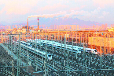 春运鸣笛青岛高铁朋友圈再扩大 将变枢纽城市