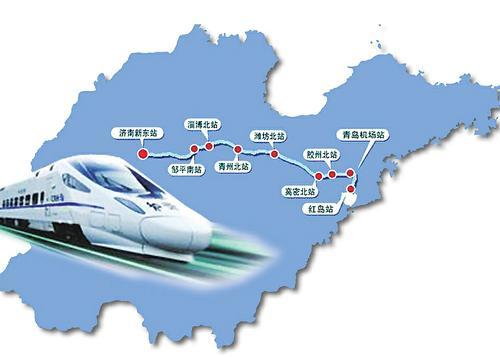济青高铁青岛方向高速段铺轨完成 本月中旬全线完成