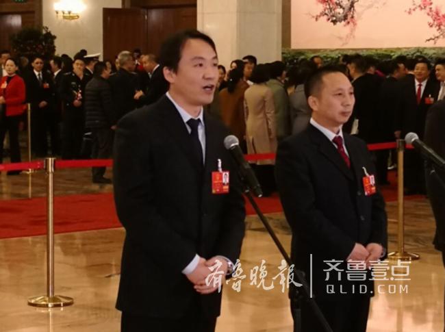 山东代表郭锐:复兴号就是中国制造到中国创造的过程