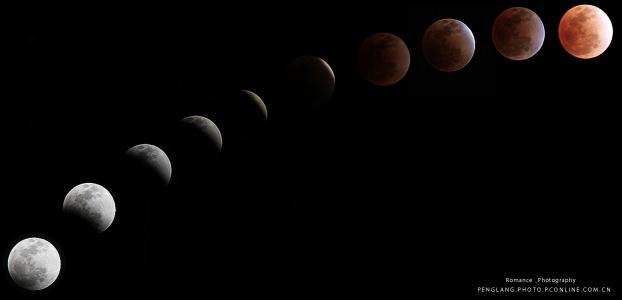 新年首次超级月亮周一将现身天宇 巧遇月全食奇观
