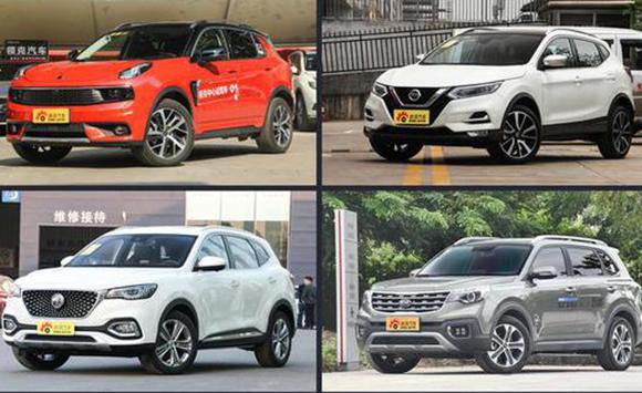 四款热门紧凑型SUV推荐
