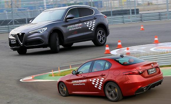 试驾阿尔法·罗密欧新款Giulia/Stelvio