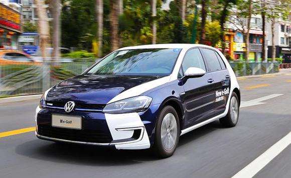 这个纯电动车靠谱 试驾进口大众e-Golf